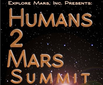 Humans 2 Mars space conference event
